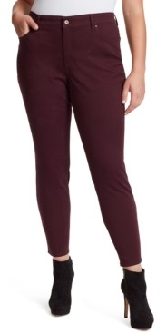Jessica Simpson Trendy Plus Size Adored High-Rise Skinny Jeans