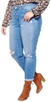 Addition Elle Love And Legend Distressed Jeans
