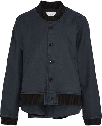 The Great The Swingy Canvas Bomber Jacket