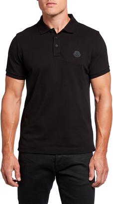Moncler Men's Pique-Knit Polo Shirt