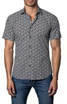 Jared Lang Short Sleeve Trim Fit Sport Shirt