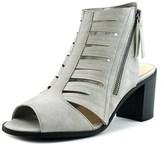 Easy Street Shoes Karlie Women Open-toe Synthetic Gray Slingback Heel.