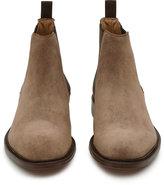Reiss Reiss Tenor Suede - Suede Chelsea Boots In Brown
