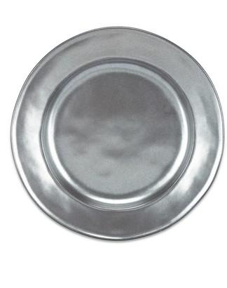 Juliska Pewter Stoneware Round Dessert Plate