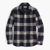 J.Crew Wallace & Barnes guide shirt-jacket in English wool