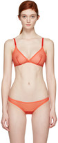 YASMINE ESLAMI Orange Jeanne Soft Bra