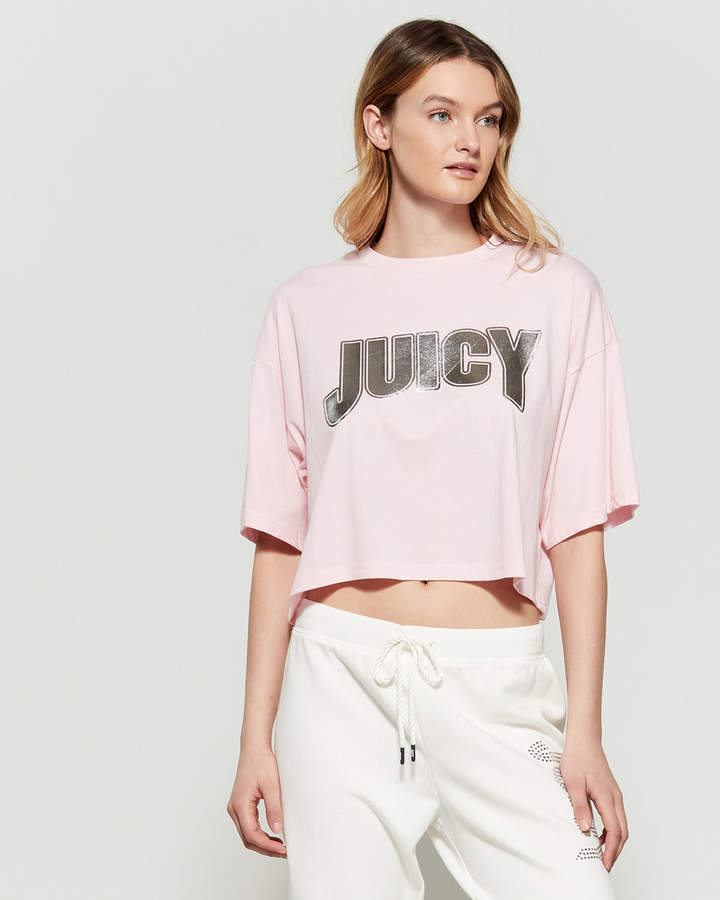 Juicy Couture Foiled Boxy Tee