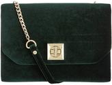 Monsoon Simone Velvet Clutch Bag