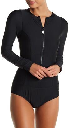 Next Good Karma Malibu Zip One-Piece Swimsuit