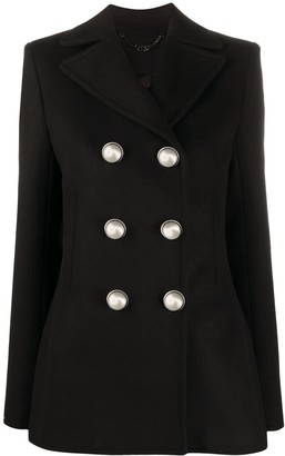 Paco Rabanne Fitted Double-Breasted Blazer