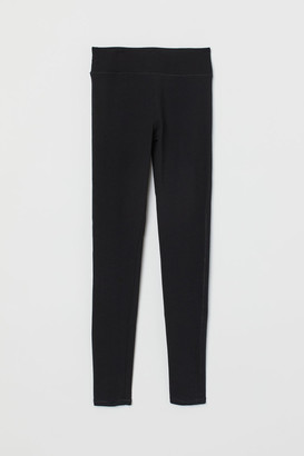 H&M Leggings High Waist - Black