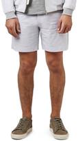 Topman Seersucker Cotton Shorts