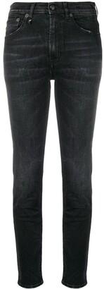 R 13 High Waisted Skinny Jeans