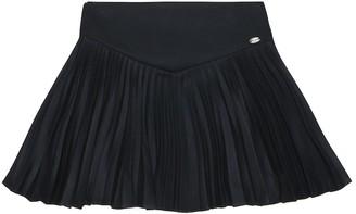 Tartine et Chocolat Pleated flannel skirt