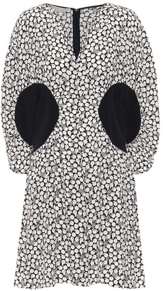 Stella McCartney Reina printed silk crepe minidress