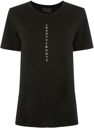 Ginger & Smart Twenty Twenty embroidered T-shirt