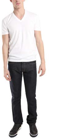 Simon Spurr Spurr by V Neck T-Shirt in White
