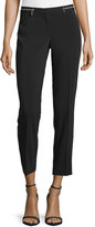 Laundry by Shelli Segal Woven Zip-Waist Pants, Black