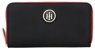 Tommy Hilfiger AW0AW04282_002 Poppy Black Wallet