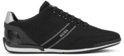 HUGO BOSS Low-top trainers with knitted uppers