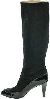 Diane von Furstenberg Black Suede Boots