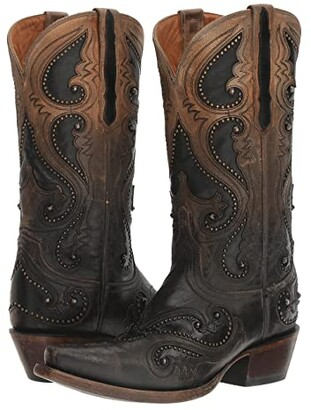 Lucchese Gemma (Ombre Pearl w/ Studs) Women's Shoes