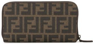 Zucca pattern all around zipped wallet