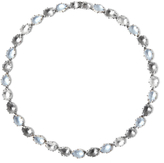 Larkspur & Hawk Caterina Riviere Necklace - Grey and Blue