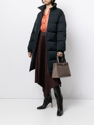 Salvatore Ferragamo Reversible Padded Coat