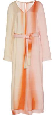 Maggie Marilyn Cocktail Hour Printed Tencel Midi Dress