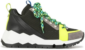 Pierre Hardy Alpine colour block sneakers