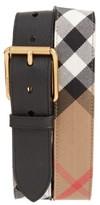Burberry Men's Mark House Check Belt
