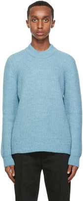 Séfr Blue Leth Sweater