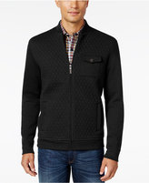 Tasso Elba Men's Big and Tall Classic Fit Quilted Full-Zip Jacket, Only at Macy's