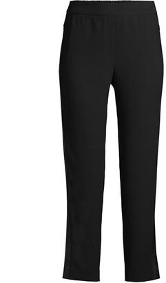Elie Tahari Willa Crop Straight-Leg Pants