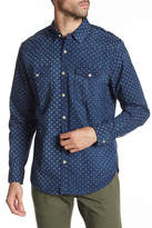 Lucky Brand San Berdu Western Indigo Classic Fit Shirt