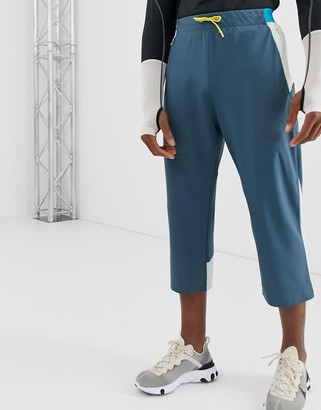 ASOS 4505 stretch woven 3/4 length jogger with bonded panels