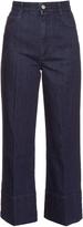 Stella McCartney High-rise wide-leg cropped jeans