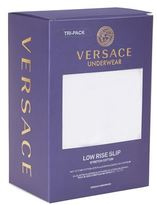 Versace Low Rise Slip Brief (pack Of 3)