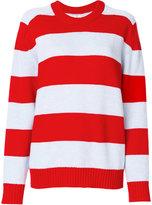 Laneus striped jumper - women - Wool - 38