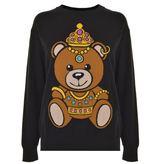 Moschino Crown Bear Jumper