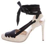 Altuzarra Woven d'Orsay Sandals