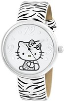 Hello Kitty Sanrio Women's HKAQ5369 Silver-Tone Watch