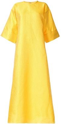 Bambah Rosa brocade kaftan dress
