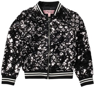 Urban Republic Sequined Bomber Jacket