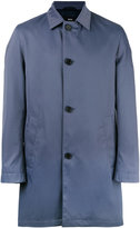 HUGO BOSS button up raincoat - men - Cotton/Polyester - 46