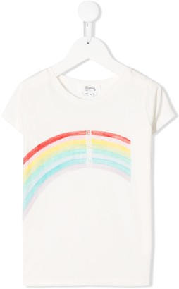 Bonpoint rainbow logo T-shirt