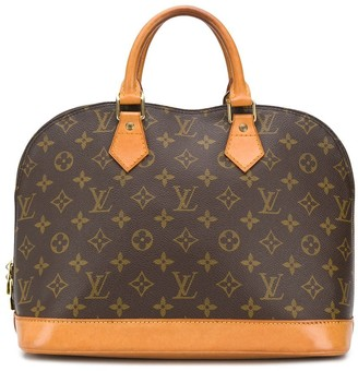 Louis Vuitton pre-owned Alma monogram top-handle bag