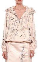 Bottega Veneta Floral-Print Pullover Parka