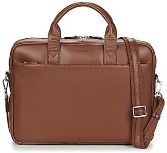 Hexagona - men's Briefcase in Brown